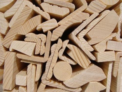 Drevené lišty