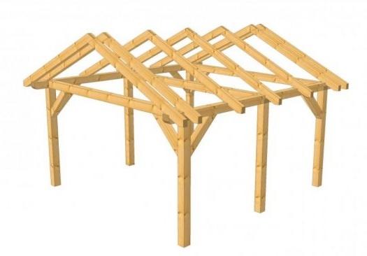 Set konštrukcie na altánok